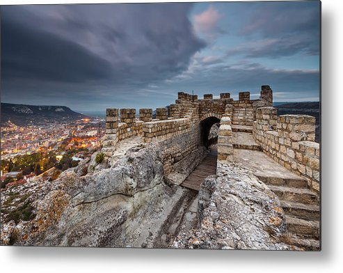 Bulgaria Metal Print featuring the photograph Ovech Fortress by Evgeni Dinev