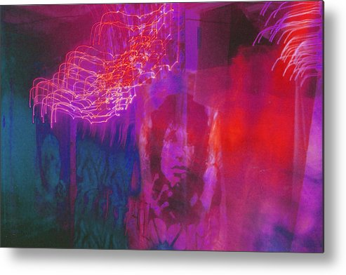 Psychedelic Metal Print featuring the photograph Riders Of The Storm by Brian Nogueira