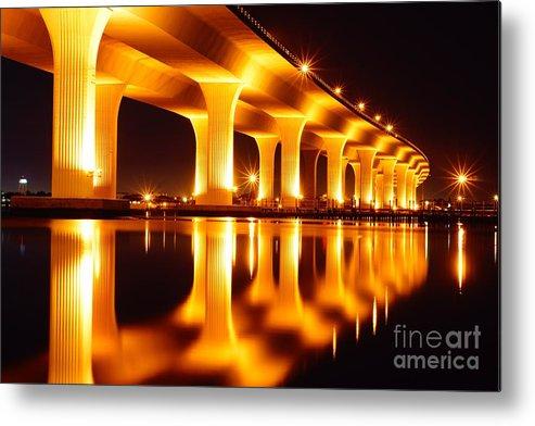 Bridge Metal Print featuring the photograph Roosevelt Bridge by Lynda Dawson-Youngclaus