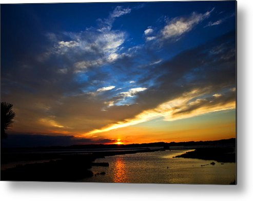 Photography Metal Print featuring the photograph Sunset by Tim Buisman