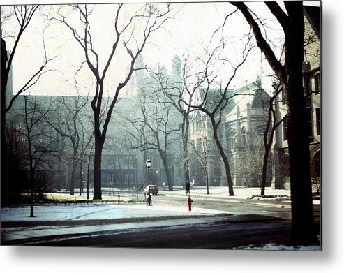 University Of Chicago Metal Print featuring the photograph University Of Chicago 1976 by Joseph Duba