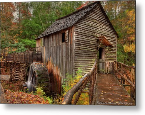 2010 Metal Print featuring the photograph Cable Mill by Charles Warren