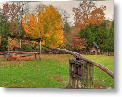 2010 Metal Print featuring the photograph Farm Iv by Charles Warren
