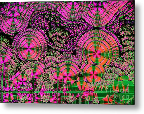 Vitamin C Metal Print featuring the photograph Vitamin C Crystals Spikeberg by M I Walker