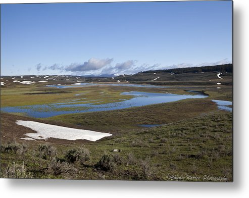 Yellowstone Metal Print featuring the photograph Yellowstone Plateau by Charles Warren