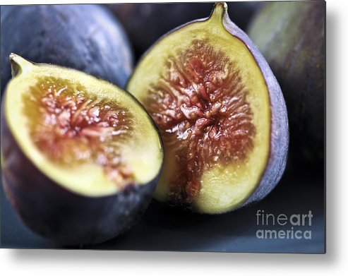 Fig Metal Print featuring the photograph Figs by Elena Elisseeva