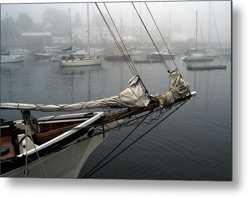 Boats Metal Print featuring the photograph Sailing On Hold by Neil Doren