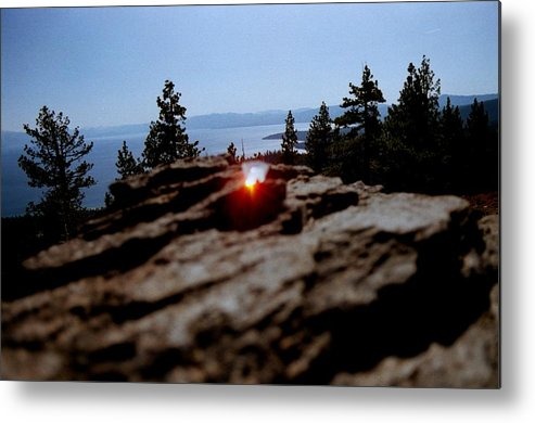 Prism Metal Print featuring the photograph Tahoe by Steven Wirth