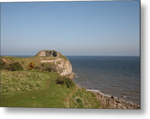 Cliffs Metal Print featuring the photograph The Little Orme by Christopher Rowlands
