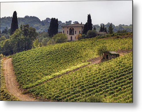 Montalcino Metal Print featuring the photograph Tuscany by Joana Kruse
