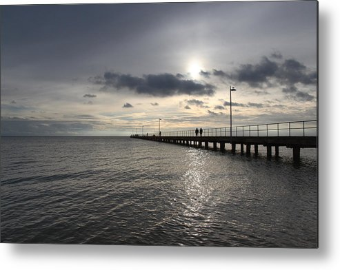 Sea Metal Print featuring the photograph Frankston Beach by Masami Iida