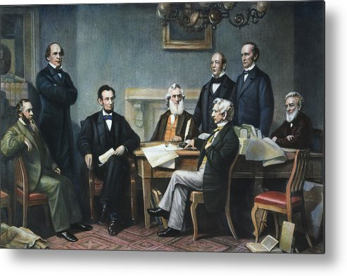 1862 Metal Print featuring the photograph Emancipation Proclamation by Granger