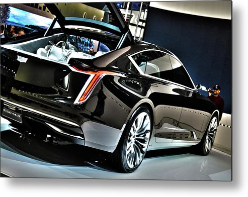 2018 cadillac escala concept metal print by adam kushion. Black Bedroom Furniture Sets. Home Design Ideas