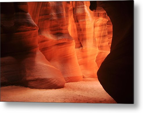 Antelope Metal Print featuring the photograph Antelope Canyon by Jacek Joniec