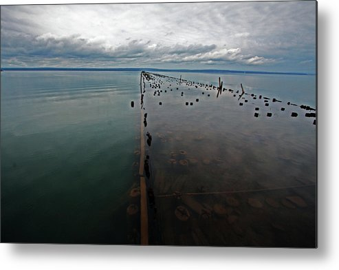 Ashland Metal Print featuring the photograph Ashland Ore Dock by Ty Helbach