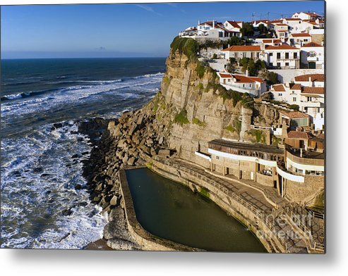 Architecture Metal Print featuring the photograph Azenhas Do Mar by Andre Goncalves