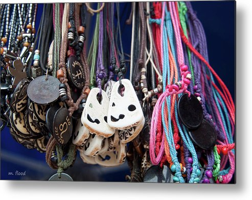 Jewelry Metal Print featuring the photograph Bangles And Beads by Michael Flood