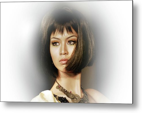 Metal Print featuring the photograph Beautiful by Charuhas Images