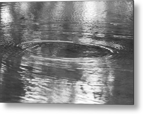 Water Metal Print featuring the photograph Beautiful Circle by Connie Alsobrook