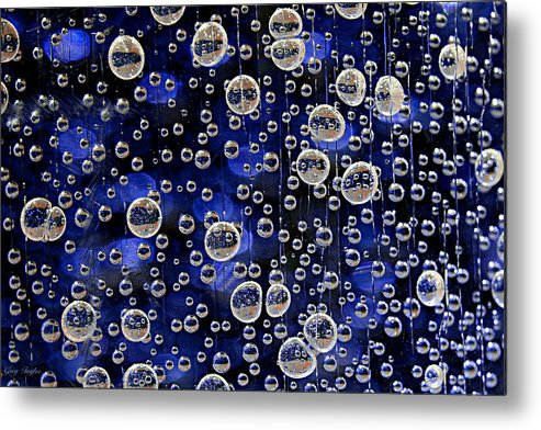 Bubbles Metal Print featuring the photograph Bubble Baubles by Greg Taylor