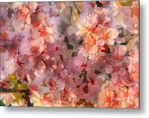 Flowers Metal Print featuring the photograph Bunches Of Beauties by Julie Lueders