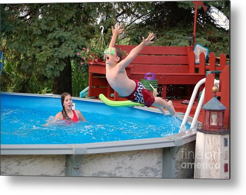 Summer Metal Print featuring the photograph Carefree by Jennifer Englehardt