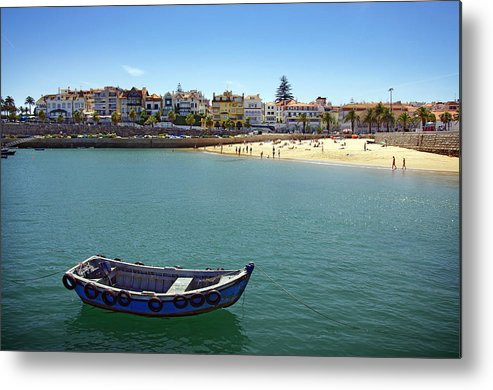 Architecture Metal Print featuring the photograph Cascais by Carlos Caetano