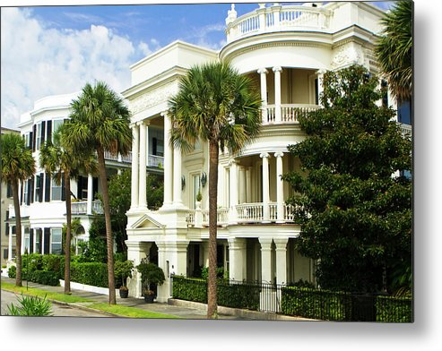 Photo Metal Print featuring the photograph Charleston Style 3 by Alan Hausenflock