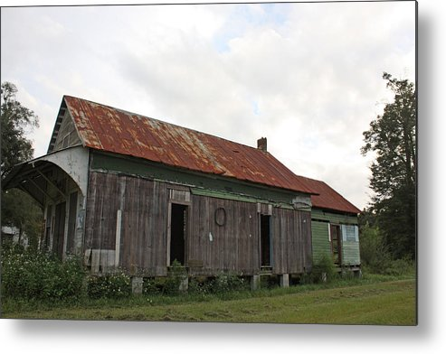 Vintage Metal Print featuring the photograph Country Store by Paula Coley
