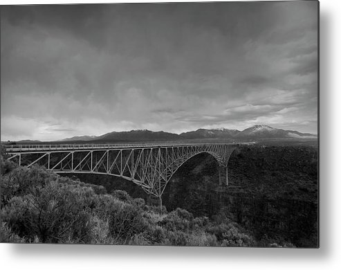 River Metal Print featuring the photograph Crossing The Rio Grande by David Waldrop