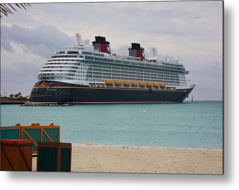 Disney Dream Metal Print featuring the photograph Disney Dream by Michael Albright