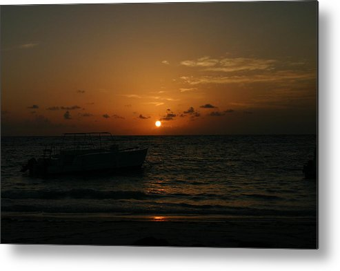 Early Morning Metal Print featuring the photograph Early Morning Dominican Republic by Trinity Rose