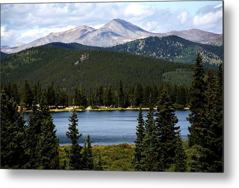 Colorado Metal Print featuring the photograph Echo Lake Colorado by Marilyn Hunt