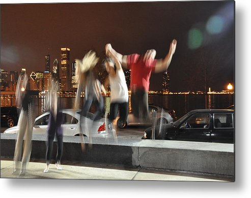 Chicago Metal Print featuring the photograph Exuberance Of Youth by John Wilson