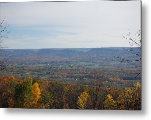 Fall Metal Print featuring the photograph Fall Colors In The Valley by Richard Botts