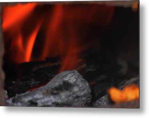 Fire Metal Print featuring the photograph Fire by Jamie Smith