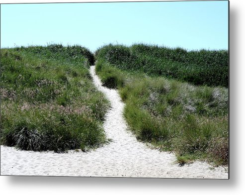 Ocean Metal Print featuring the photograph Follow Me To The Sea by Claire McGee