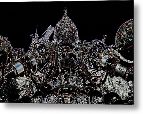 Dr. Evermor Metal Print featuring the photograph Forevertron by Tya Kottler