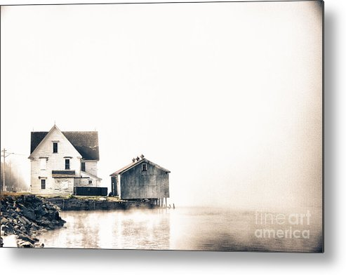 Miramichi Metal Print featuring the photograph Ghosty Antique by Levin Rodriguez