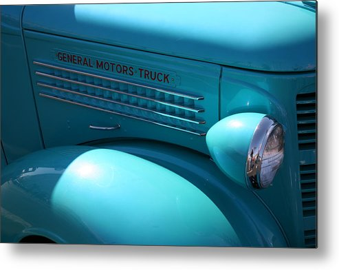 Classic Car Metal Print featuring the photograph Gm Truck by Carl Hinkle