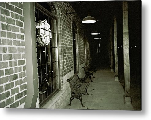 Night Time Metal Print featuring the photograph Gone Home by Amy Strong