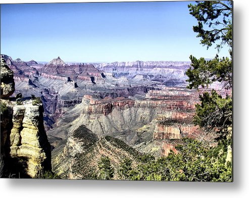 Grand Canyon Metal Print featuring the photograph Grand Canyon 2277 by Sharon Broucek