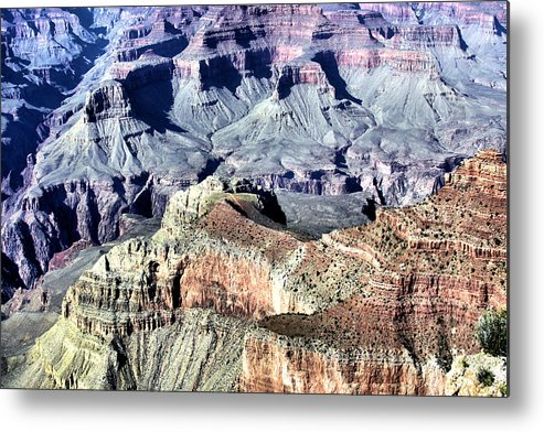 Grand Canyon Metal Print featuring the photograph Grand Canyon 2281 by Sharon Broucek