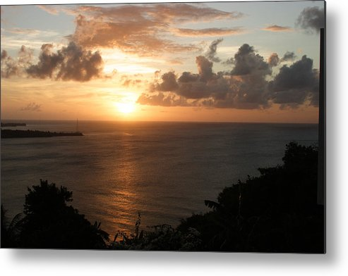 Grenada Metal Print featuring the photograph Grenadian Sunset I by Jean Macaluso