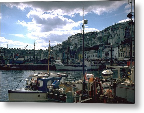 Great Britain Metal Print featuring the photograph Harbor II by Flavia Westerwelle