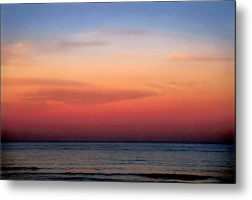 Landscape Metal Print featuring the photograph Horizontal Number 1 by Sandra Gottlieb