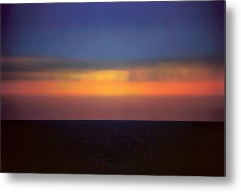 Landscape Metal Print featuring the photograph Horizontal Number 17 by Sandra Gottlieb