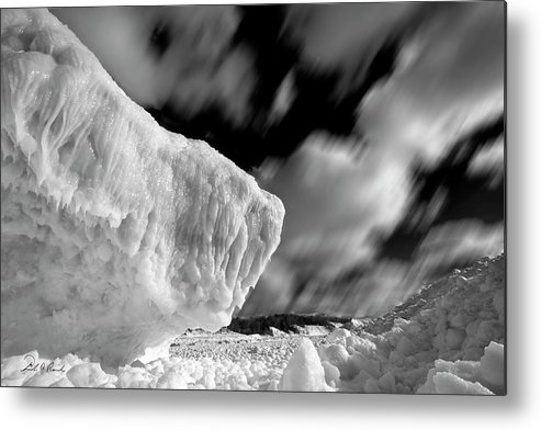 Photography Metal Print featuring the photograph Ice Giant by Frederic A Reinecke