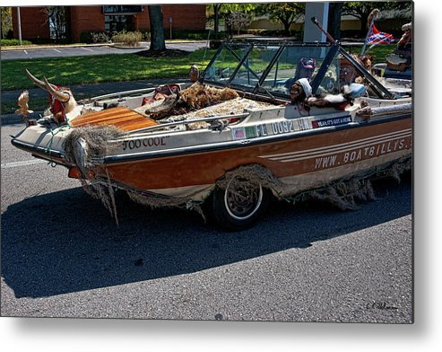 Boat Metal Print featuring the photograph Identity Crisis II by Christopher Holmes
