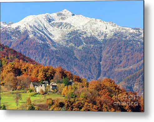 Alps Metal Print featuring the photograph Italian Alps by Silvia Ganora